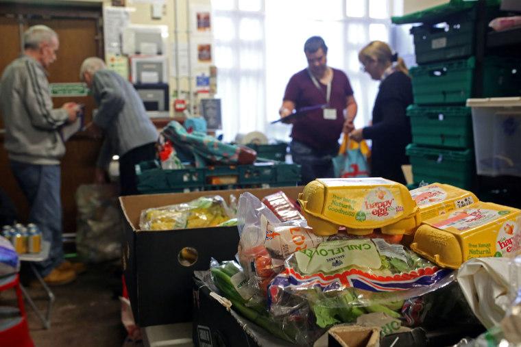 Image: Oldham food bank