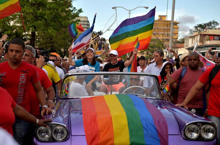 Image: FILES-CUBA-POLITICS-GAY-RIGHTS