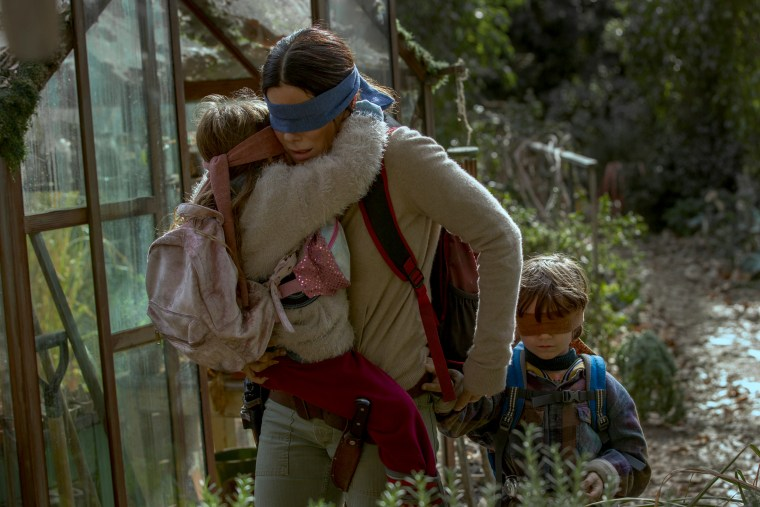 "Image: Sandra Bullock in Netflix's ""Bird Box."""