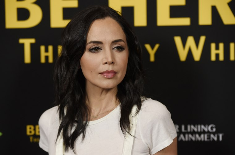 Image: Eliza Dushku at a premiere in Beverly Hills, California, on April 5, 2016.
