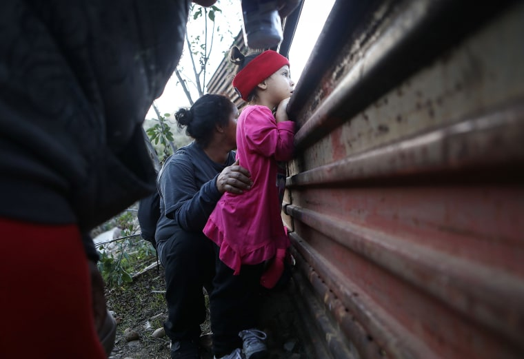 Image: Migrants Continue To Try To Reach The United States At The Tijuana Border