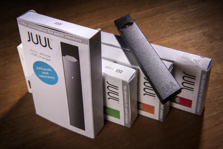 The Juul vaping system