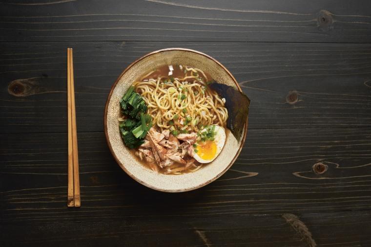 "Ramen from Nancy Singleton Hichasu's cookbook ""Japan: The Cookbook"""