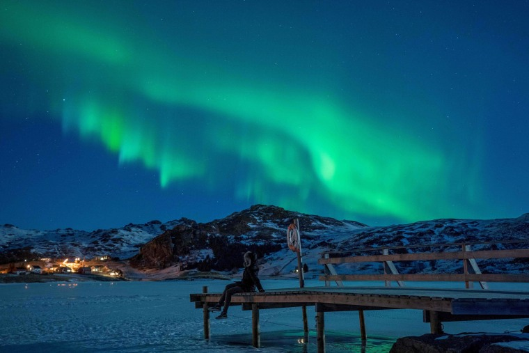 Image: NORWAY-NATURE-NORTHERN LIGHTS