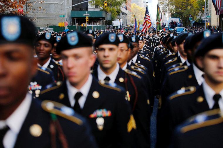 Image: Army veterans