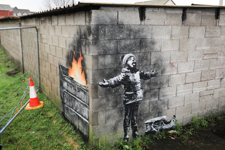 Image: Banksy Port Talbot