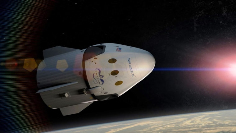 Image: SpaceX Dragon V2