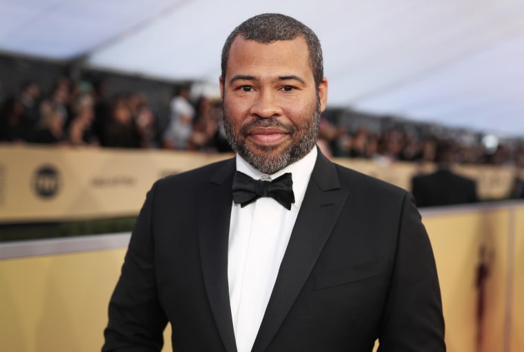Image: Jordan Peele attends the Screen Actors Guild Awards in Los Angeles on Jan. 21, 2018.