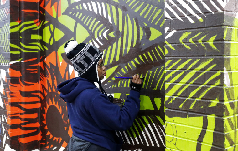 New Murals Near Super Bowl Venue Highlight Atlanta S Civil Rights Legacy