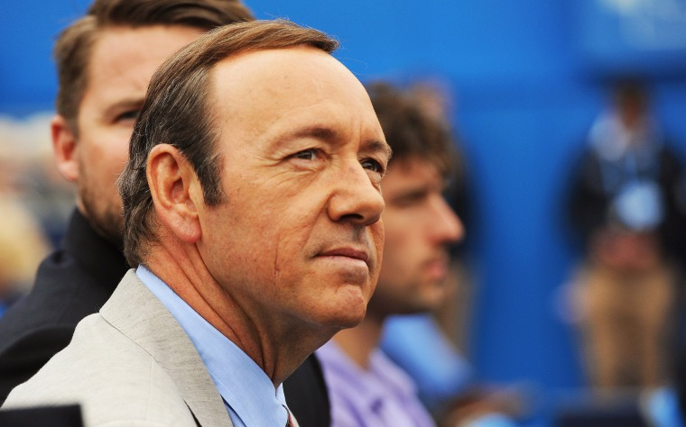 Image: Actor Kevin Spacey charged with sexual assault