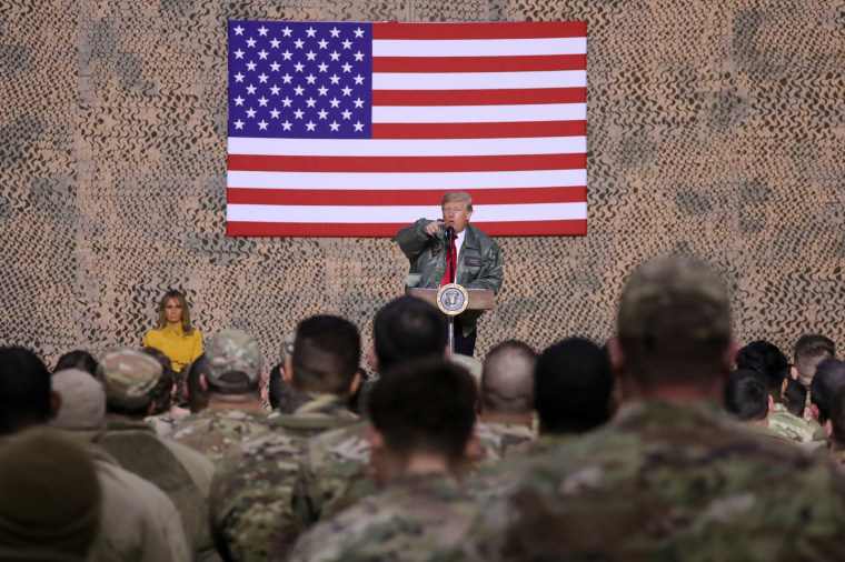 Image: Donald Trump Iraq visit