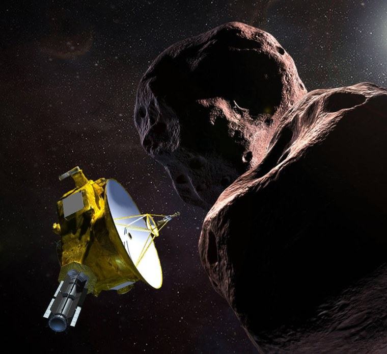 Image: Illustration of NASA's New Horizons spacecraft