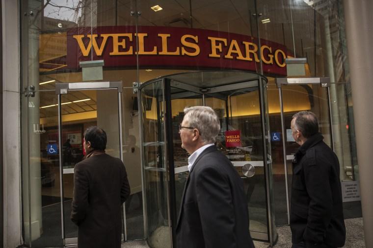 Image: Wells Fargo & Co. Bank Branch Ahead Of Earnings Figures