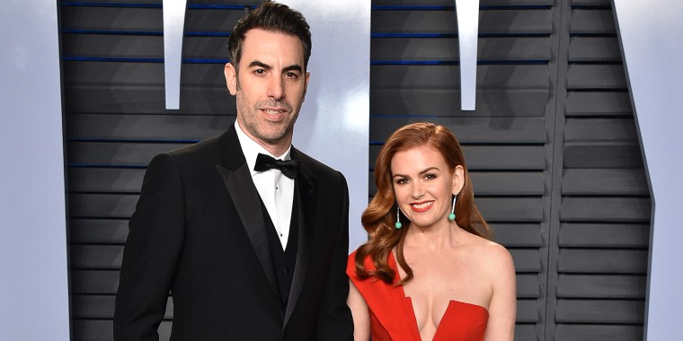 Isla Fisher's new blonde bombshell look
