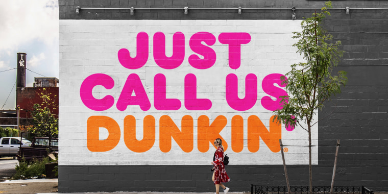 Dunkin' Donuts is now on a first name basis with customers in 2019.