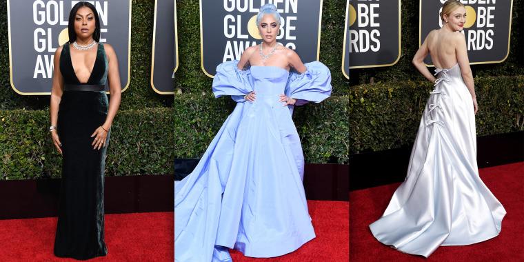 Golden Globes red carpet 2019 fashion trends