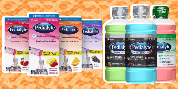 Pedialyte bottles