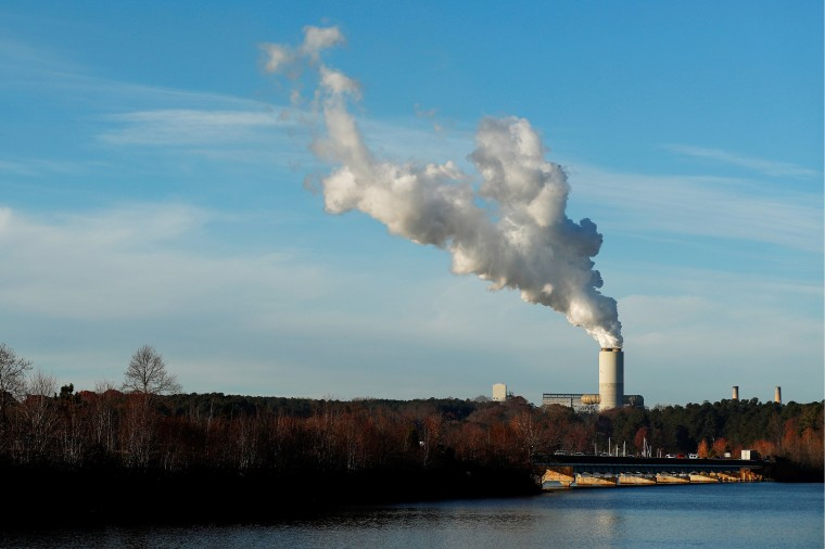 Image: A view of Duke Energy's Marshall Power Plant in Sherrills Ford