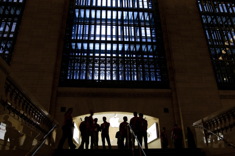 Image: The Apple store in Grand Central Terminal in New York on Dec. 7, 2011.