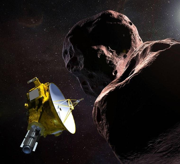 Image: Illustration of NASA's New Horizons spacecraft