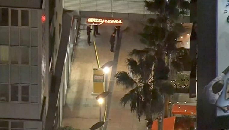 Image: A security guard fatally shot Jonathan Hart at a Walgreens in Hollywood, California, on Dec. 2, 2018.
