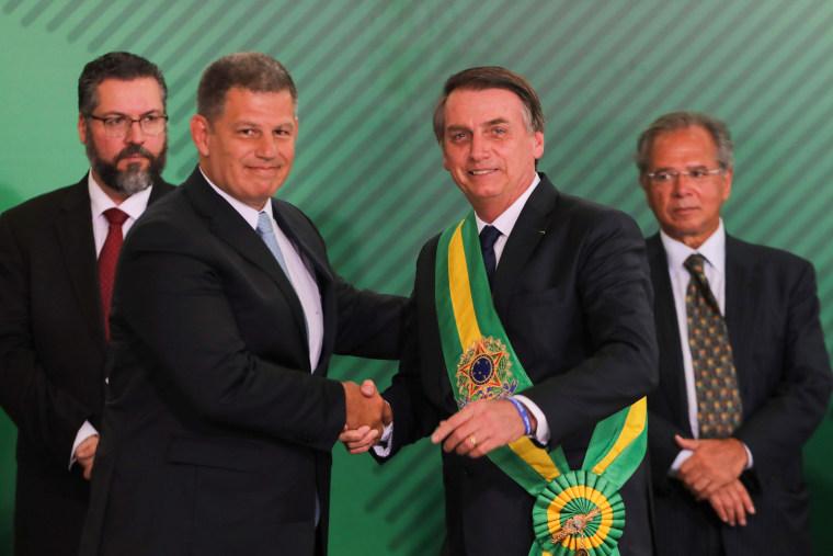 Image: BRAZIL-INAUGURATION-BOLSONARO-CABINET
