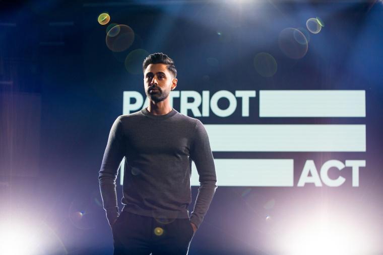"Image: Netflix's ""Patriot Act with Hasan Minhaj."""