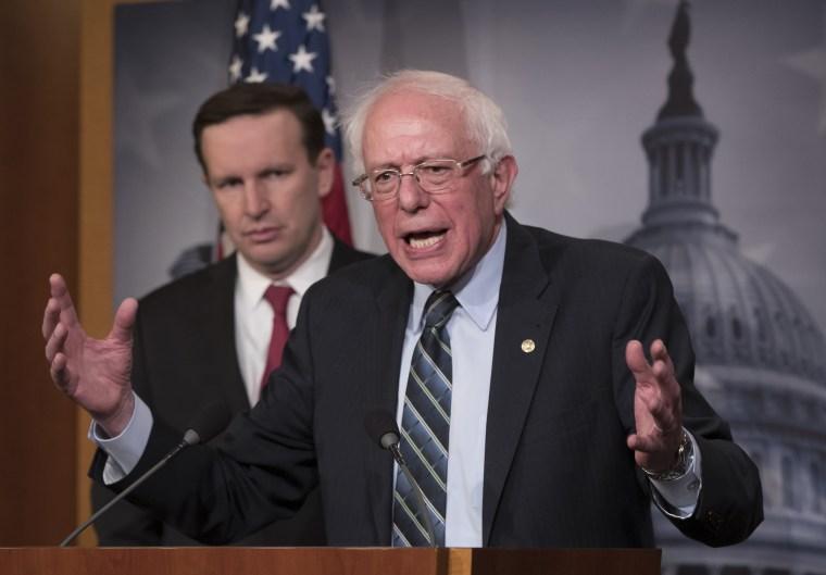 Image: Bernie Sanders, Chris Murphy