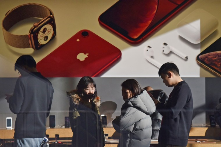 Image: CHINA-US-APPLE-QUALCOMM-COMPUTERS-TELECOM