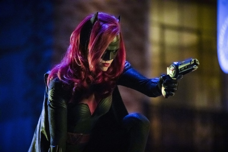 "Image: Ruby Rose as Batwoman in The CW's ""Elsewords."""