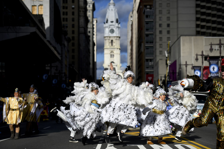 Image: Philadelphia Celebrates The New Year With Annual Mummers Parade