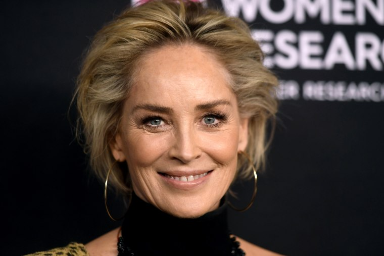 Image: Sharon Stone attends a gala in Beverly Hills, Calif., on Feb. 28, 2019.