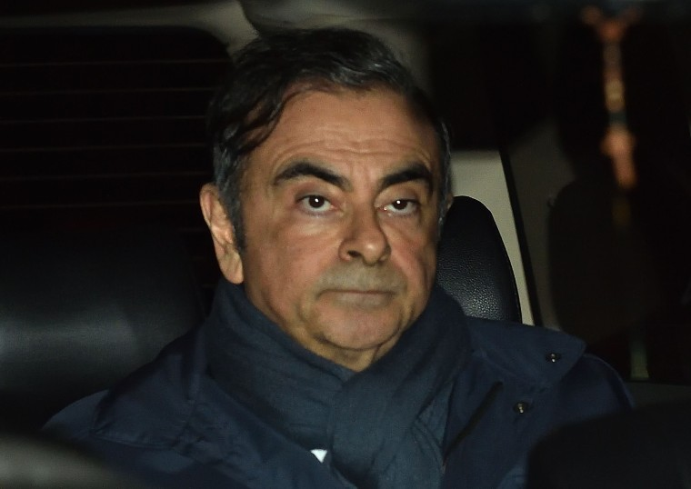 Image: FILES-LEBANON-JAPAN-FRANCE-GHOSN-NISSAN-RENAULT-AUTOMOBILE-CRIME
