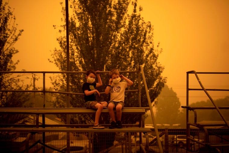 Image: Smoke in Bega, Australia