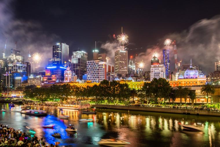 Image: Australians Celebrates New Year's Eve 2019