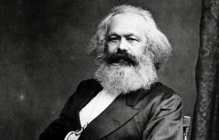 Image: Karl Marx, a German political philosopher.