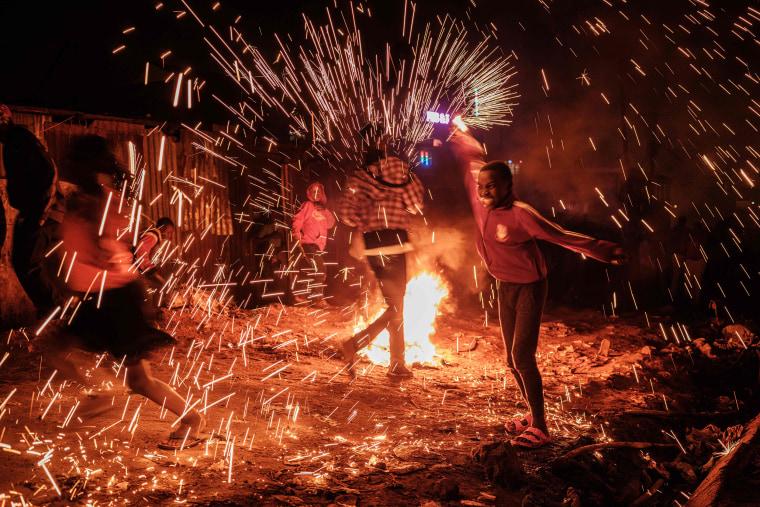 Image: KENYA-NEW YEAR