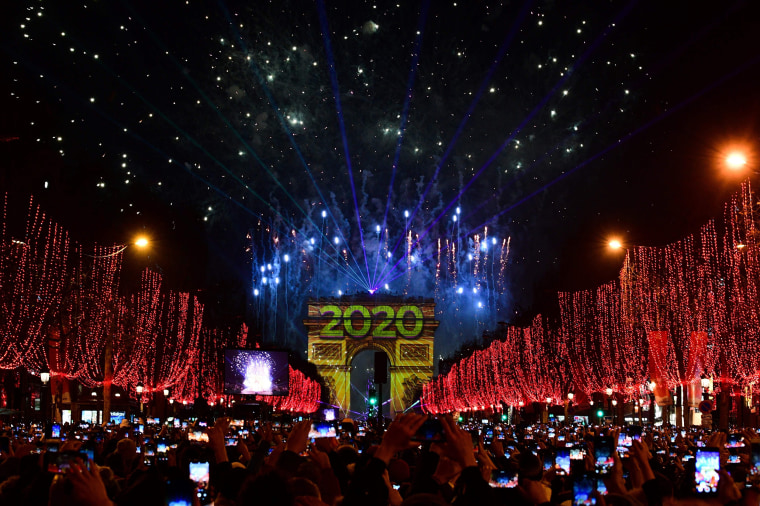 Image: FRANCE-NEW-YEAR