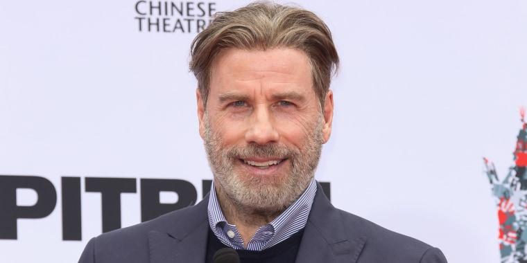 John Travolta has a new look