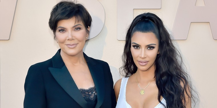 Kris Jenner looks so much like Kim K in this Instagram photo