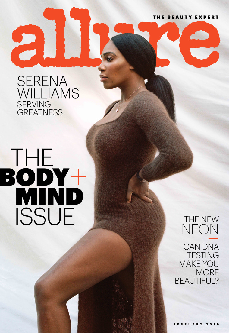 Serena Williams on the cover of Allure