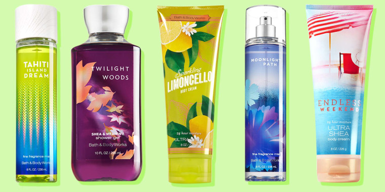 Bath & Body Works classic scents