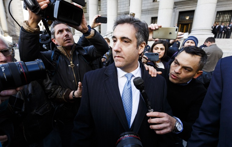 Image: Reports: New York prosecutors seek prison term for Michael Cohen