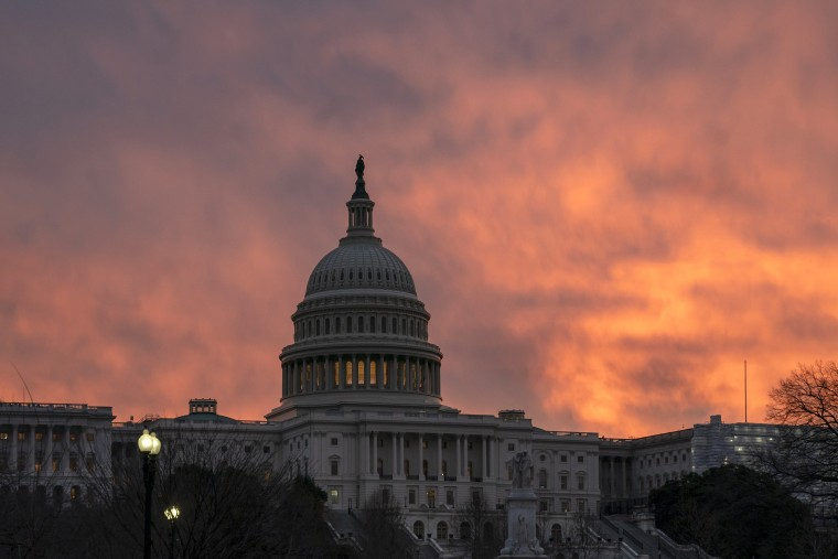 Image: The Capitol as the partial government shutdown lurches into a third week on Jan. 7, 2019.