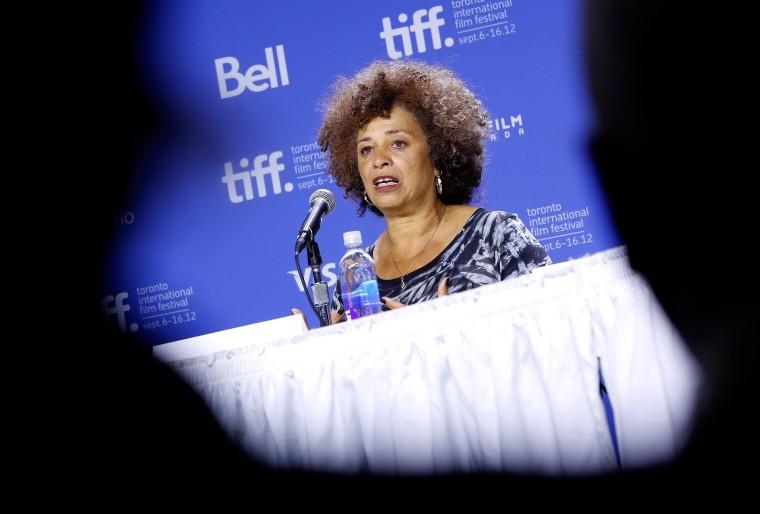 "Image: ""Free Angela & All Political Prisoners"" Press Conference - 2012 Toronto International Film Festival"