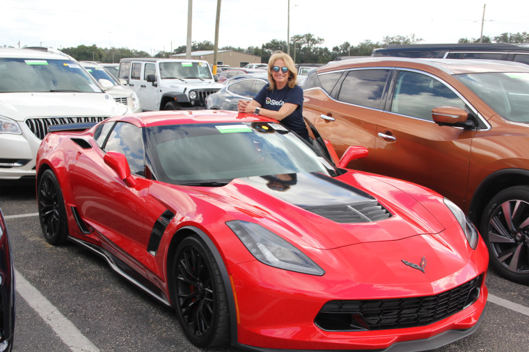 Athena Staton, owner of SheCar, a woman-owned online auto dealership,