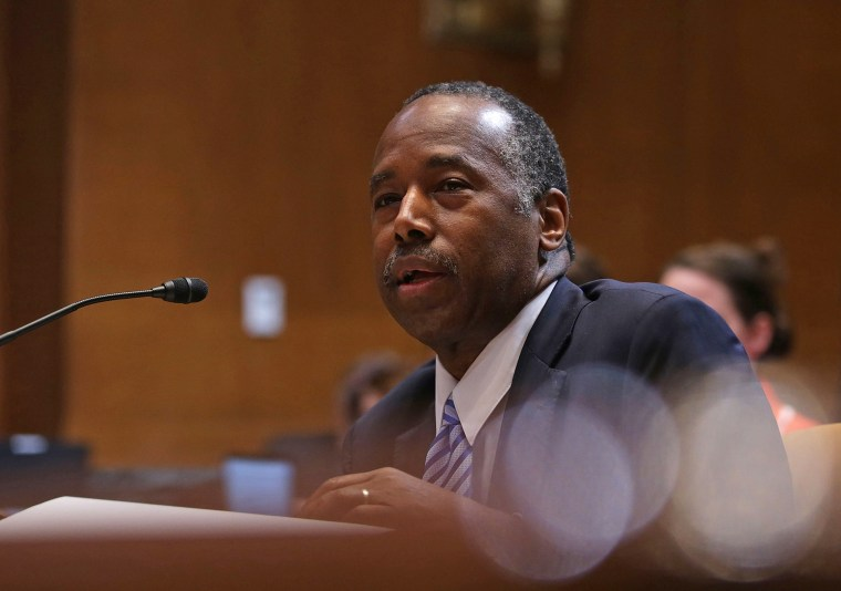 Housing And Urban Development Department Secretary Ben Carson Testifies To Senate Committee On Department's Budget