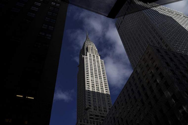 Image: The Chrysler Building in Manhattan on Jan. 9, 2019. The building's owners have hired a real estate firm to market and sell the landmark tower.