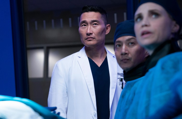 "Image: Daniel Dae Kim on ""The Good Doctor."""