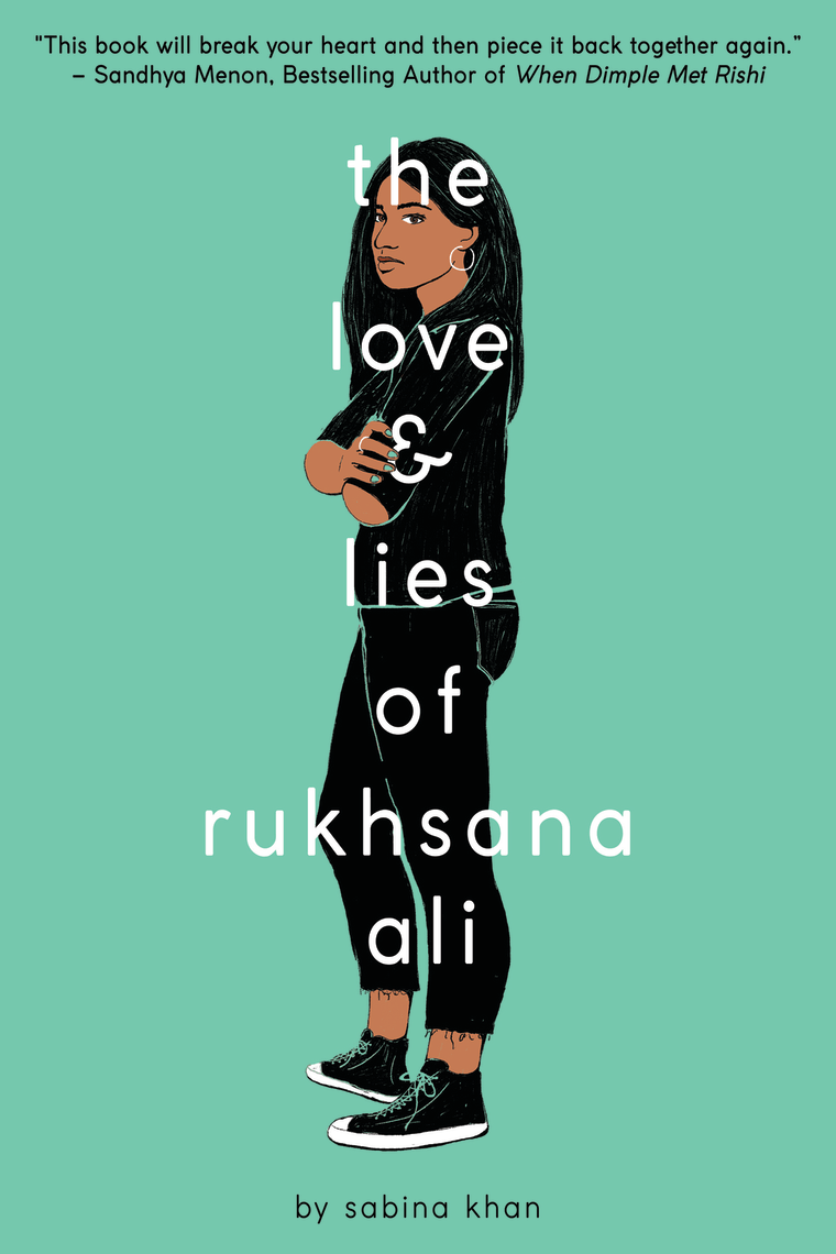 Image: Book cover, The Love and Lies of Rukhsana Ali
